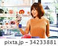 ショッピング 買い物 女性 雑貨 セレクトショップ 撮影協力:TENOHA DAIKANYAMA 34233881