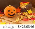 ハロウィン カボチャ お菓子 おもちゃカボチャ ハロウィーンイメージ 34236346