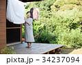 シニア 女性 家事の写真 34237094