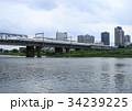 東海道新幹線 新幹線 多摩川の写真 34239225