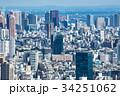 【新宿】都庁南展望室より 34251062