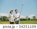 ゴルフ ミドル 夫婦 スポーツ ゴルフ場 イメージ 34251109