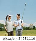 ゴルフ ミドル 夫婦 スポーツ ゴルフ場 イメージ 34251110