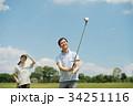 ゴルフ ミドル 夫婦 スポーツ ゴルフ場 イメージ 34251116