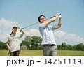 ゴルフ ミドル 夫婦 スポーツ ゴルフ場 イメージ 34251119