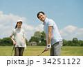 ゴルフ ミドル 夫婦 スポーツ ゴルフ場 イメージ 34251122