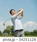 ゴルフ ミドル 夫婦 スポーツ ゴルフ場 イメージ 34251126