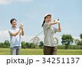 ゴルフ ミドル 夫婦 スポーツ ゴルフ場 イメージ 34251137