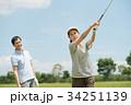 ゴルフ ミドル 夫婦 スポーツ ゴルフ場 イメージ 34251139