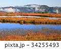 尾瀬 アヤメ平 池塘の写真 34255493