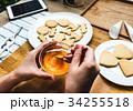 お菓子作り クッキー アイシングの写真 34255518