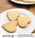 お菓子作り ハート クッキーの写真 34255531