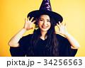 女の子 ハロウィン 仮装の写真 34256563