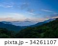 富士山 芦ノ湖 雲海の写真 34261107