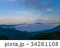 富士山 芦ノ湖 雲海の写真 34261108