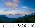 富士山 芦ノ湖 雲海の写真 34261110