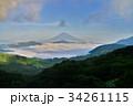 富士山 芦ノ湖 雲海の写真 34261115