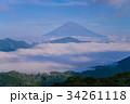 富士山 芦ノ湖 雲海の写真 34261118