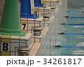 プール 飛び込み台 大会 水泳 34261817
