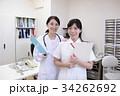 医者 女性 看護師の写真 34262692