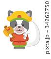 七福神(大黒天)【年賀状・シリーズ】 34262750