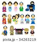 江戸時代 時代劇 武家 侍 姫 忍者 34263219