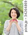 ミニカー 女性 人物の写真 34264869