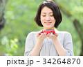 ミニカー 女性 人物の写真 34264870