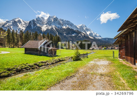 Garmisch Partenkirchen in Bavaria 34269796