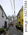 A Small alley in Yanaka, Tokyo, Japan 34273084