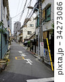 Residential area in sendagi district, Tokyo, japan 34273086