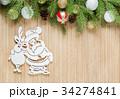 クリスマス サンタさん サンタクロースの写真 34274841
