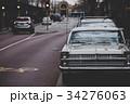 レトロな車と街並み 34276063