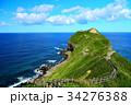 神威岬 海 夏の写真 34276388