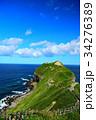 神威岬 海 夏の写真 34276389