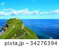 神威岬 海 夏の写真 34276394