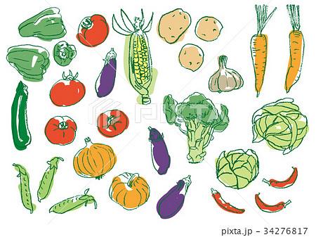 いろいろ野菜2 34276817