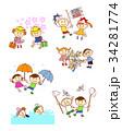 子供 行事 入学のイラスト 34281774