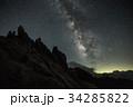燕山荘からの天の川 34285822