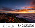 燕山荘からの朝焼け 34285830