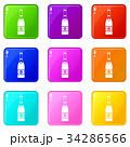 カラー 色 色彩のイラスト 34286566