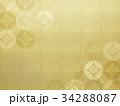 背景 柄 和柄のイラスト 34288087