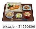 カレイ定食3 34290800