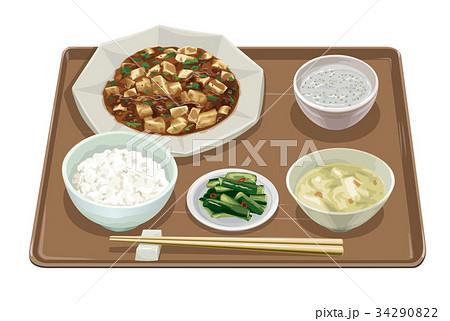 マーボー豆腐定食3 34290822