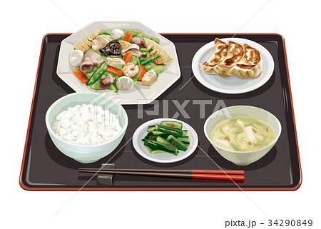 八宝菜定食3 34290849