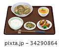 定食 水餃子 水餃子定食のイラスト 34290864