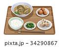 定食 水餃子 水餃子定食のイラスト 34290867