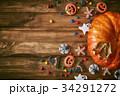 ハロウィン ハロウィーン カボチャの写真 34291272