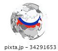 ロシア ロシア風 ロシア人のイラスト 34291653