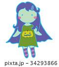 HALLOWEEN_C027_ゾンビ少女2 34293866